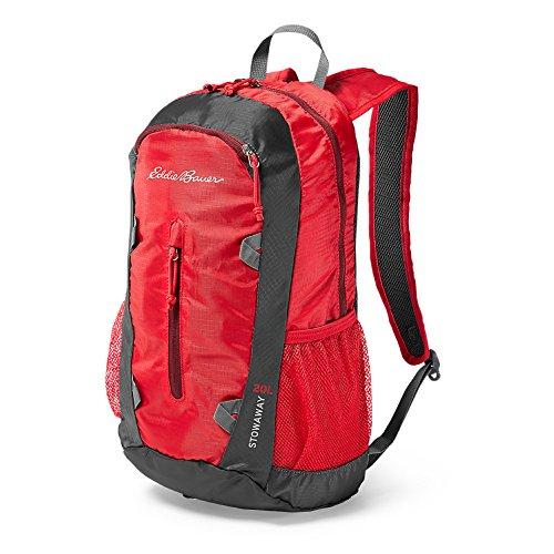 Eddie Bauer Unisex-Adult Stowaway Packable 20L Daypack, Cardinal Regular ONESZE - Cardinal Daypack