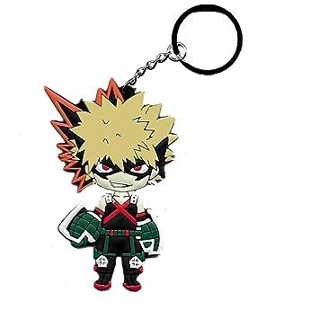 My Hero Academia Llaveros de Goma Doble Cara Bakugo Katsuki ...