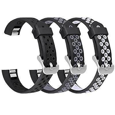 For Fitbit Alta HR/Alta Bands, SKYLET Silicone Breathable Wristbands for Fitbit Alta and Fitbit Alta HR Bracelet (No Tracker)