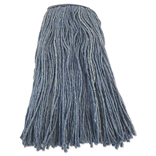 16 Oz Blended Cut End Narrow Band Wet Mop Blu