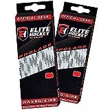 Elite Hockey Prolace Waxed Hockey Laces -- SET of 2