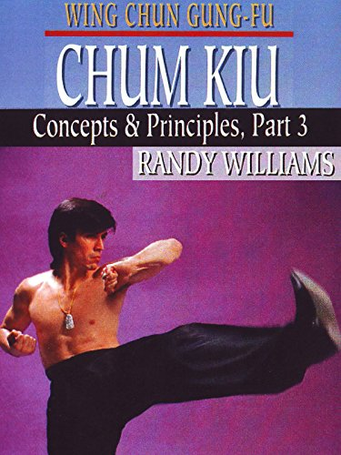 Wing Chun Gung-Fu Chum Kiu Concepts & Principles Part 3 Randy Williams ()
