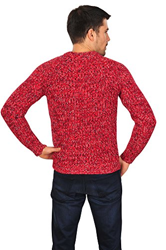 Incotex Pull Homme Rouge 48