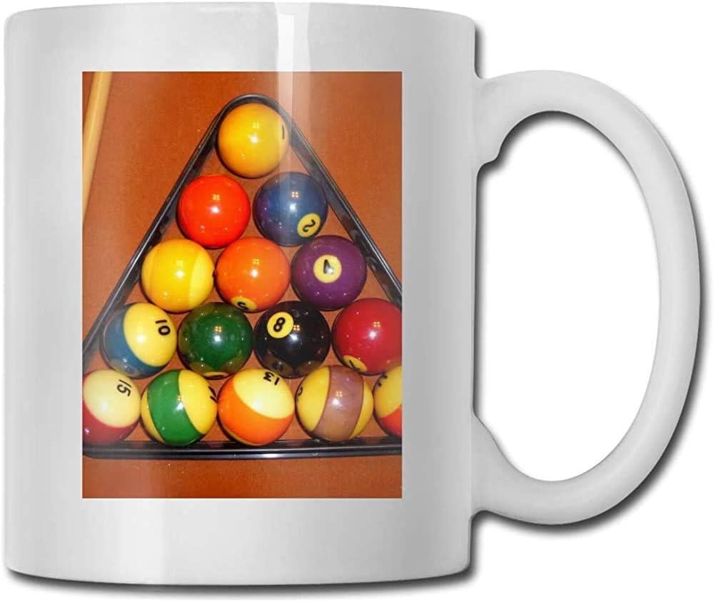 Taza de regalo de café y té Bolas de billar Taza de cerámica Tazas ...