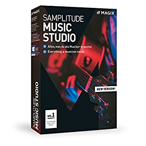 MAGIX Samplitude Music Studio – Version 2019 – the Complete Software Studio For Composing, Recording, Mixing and…