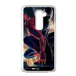Generic Design Back Case Cover LG G2 Cell Phone Case White elovek pauk spider man kino Uamsf Plastic Cases