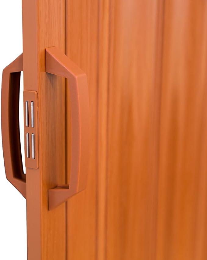 TecTake Puerta plegable de plástico 80 x 203 cm, PVC Puertas plegables, Puerta corredera - disponible en diferentes colores - (Roble | no. 401505): Amazon.es: Bricolaje y herramientas