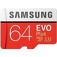 Samsung 64GB Micro SDXC Evo Plus 100MB/s W60MB Class 10 with adapter