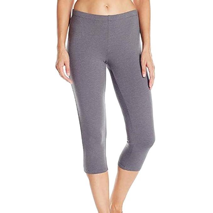 Polainas Fitness de Yoga Mujer, Slim Fit Pantalones Leggings ...
