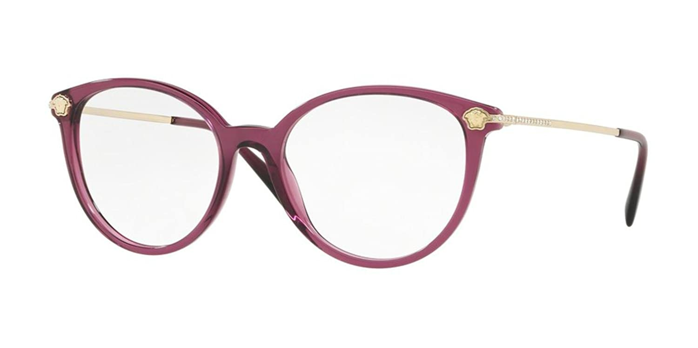 Eyeglasses Versace VE 3251 B 5220 TRANSPARENT//PLUM