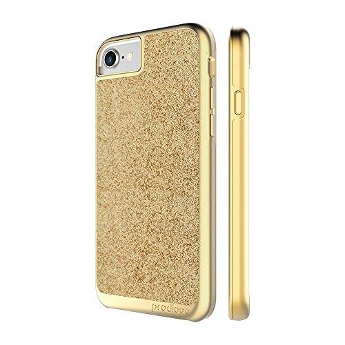 "Prodigee Sparkle resplandecer rutilar brillar centellear chispear destellar Gold Oro for iPhone 7 (2016) 4.7"" Cell Phone Case Cas, de protection flexible, durable, absorption des chocs, étui de protec"