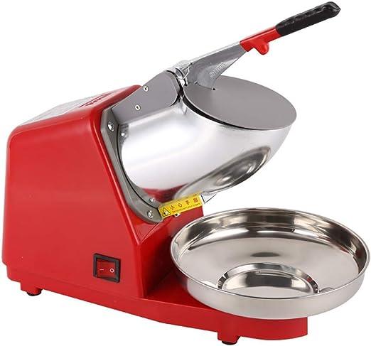 Máquina para cortar hielo, batidos, máquina para hacer conos de ...