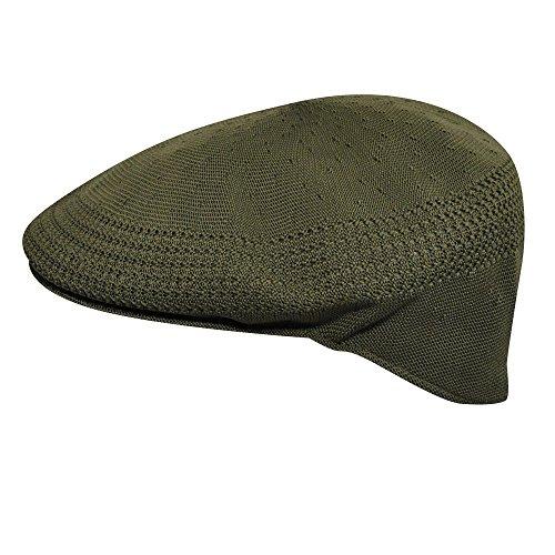 Kangol  Men's Tropic Ventair 504 Cap , Green,Large (Lightweight Ivy Cap)