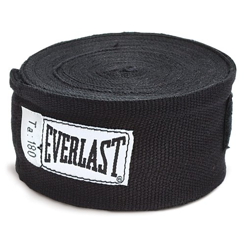 Everlast 4456BU Handwraps Black 180″
