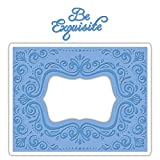 Sizzix Impresslits Embossing Folder Aquarius Frame (6 Pack)