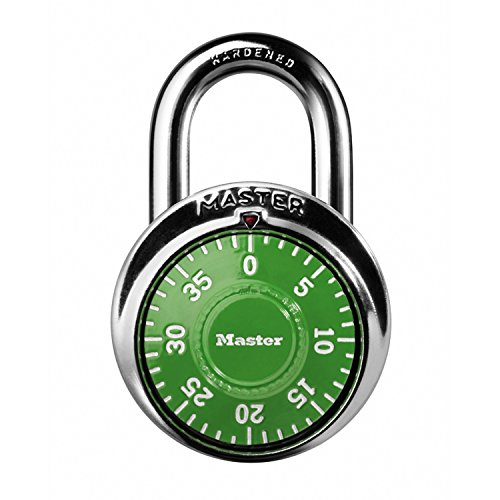 Master Lock 1505D Locker Lock Combination Padlock 1 Pack, Assorted Colors (Best Combination Lock For School Locker)