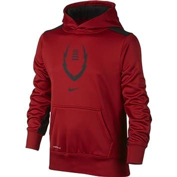 Mens Nike Ko 3.0 Full Zip Gym Red/Cool Grey Training Hoodie
