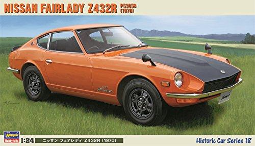 amazon com hasegawa 1 24 nissan fairlady z432r toys games