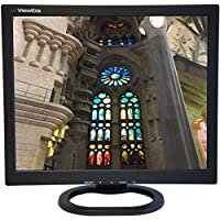 ViewEra V172SV2-B TFT LCD Gaming Monitor 17 Screen Size, VGA, Composite (RCA) Video, S-Video, Resolution 1280 x 1024, Brightness 250 cd/m2, Contrast Ratio 1000:1, Response Time 5ms, Built-In Speaker