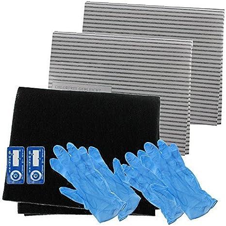 SPARES2GO Campana Extractora Carbono Filtro De Grasa Completo Kit para Galera Matriz completo Cocina Extractor Ventilación: Amazon.es: Grandes electrodomésticos