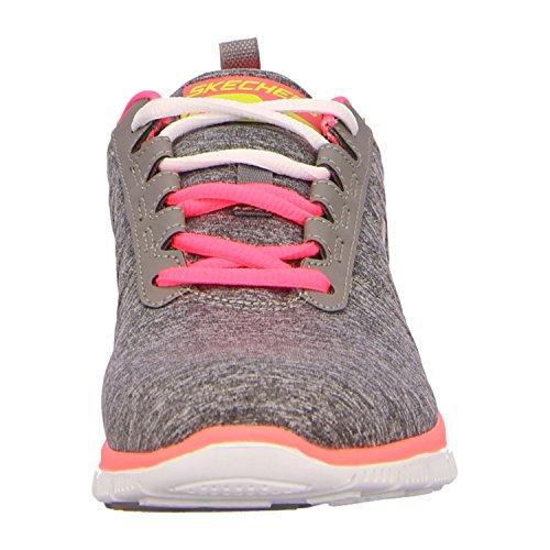 Appeal Grigio Donna Sneaker Grau Skechers Gycl nbsp;Tribeca Flex q5wOPOcR1