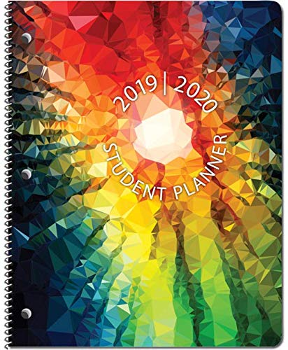 2020 School Books - Dated Middle/High School Student Planner for Academic School Year 2019-2020- Jostens Planner Brand- (8-1/2