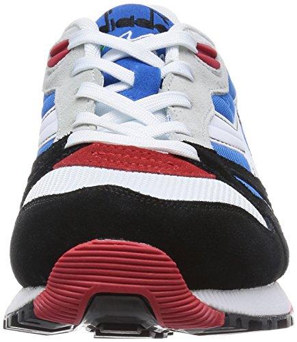 Diadora N9000NYL 16082701C5750, Herren Sneaker, blau/weiß/schwarz, 40 EU