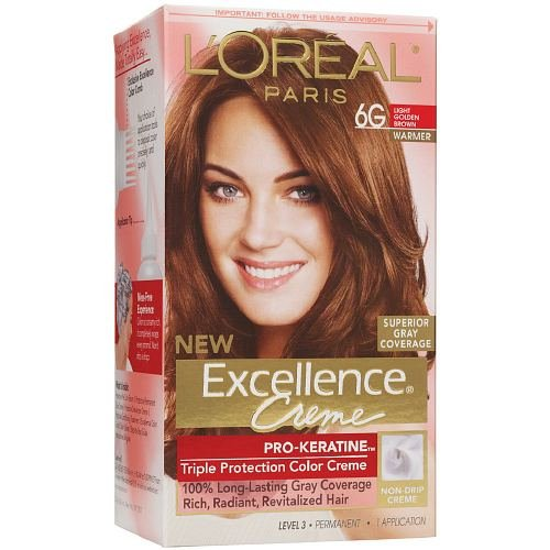 loreal paris excellence creme haircolor light golden