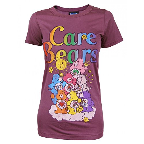 Junk Food - T-Shirt - Care Bears Purple