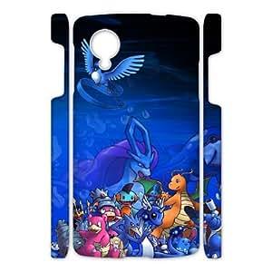 Cool Game Phone Case pokemom For Google Nexus 5 Q5A2111851