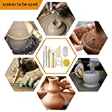 Augernis Pottery Sculpting Tools 32PCS Ceramic Clay Carving Tools Set for Beginners Expert Art Crafts Kid's After School Pottery Classes Club Children Students