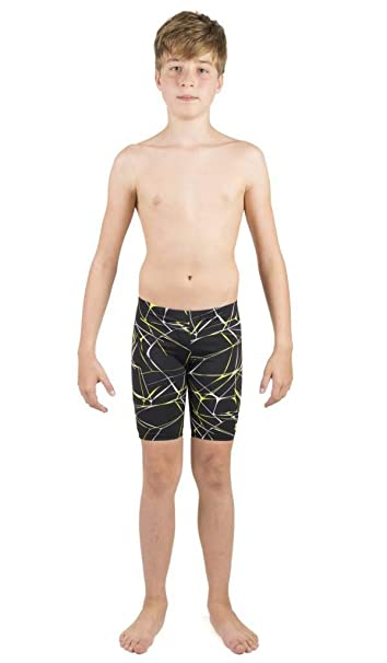 bdd836c841 Buy Arena 001348 Polyester Water Jammer Boys Swimwear (UK 22, Black) Online  at Low Prices in India - Amazon.in