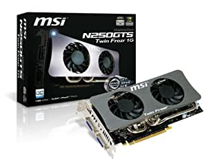 MSI Military Class 1 GB GDDR3 RAM Twin Frozr Cooler Overclocked Graphics Card N250GTS Twin Frozr 1G OC
