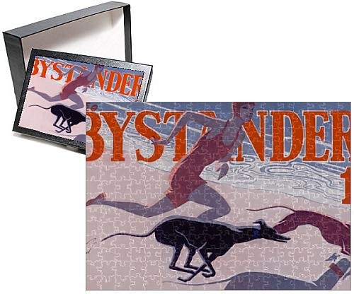 Photo Jigsaw Puzzle of The Bystander masthead by Laurie Taylor, 1930