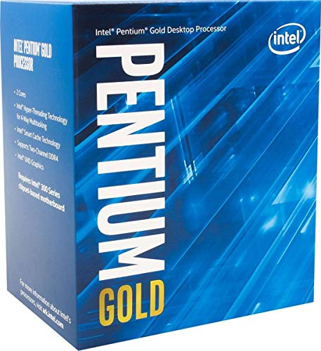 Intel Core G6400 (basistoets: 4,00GHZ; fitting: LGA1200; 58 Watt) box