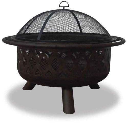 Outdoor Bronze Firebowl (Blue Rhino 36