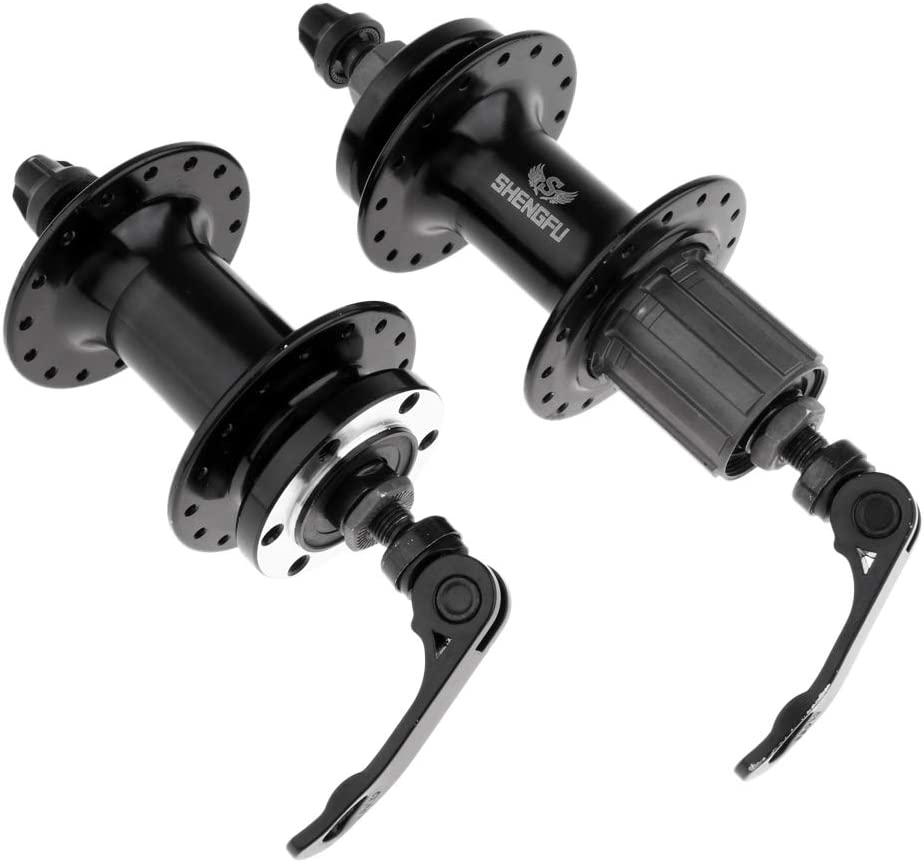 SM SunniMix 1 Pair Bike Disc Brake MTB Bearing Hub 32//36Holes Front Rear Hub Set Skewers