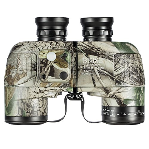 BNISE Military HD Binoculars - Navigation Compass and Rangef