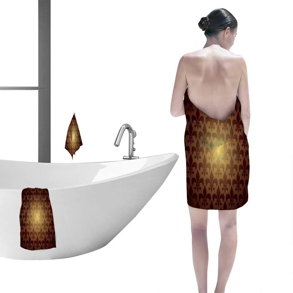 Amazoncom Printsonne Large Hand Towels Set Fleur De Lis Inspired