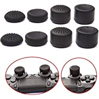 YTTL®Pack of 8 pcs Thumb Grip Thumbstick for PS2, PS3, PS4, Xbox 360, xbox one, Wii U Controller