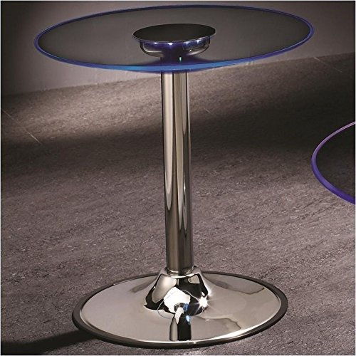 Coaster Home Furnishings 701497 Contemporary End Table, Chro