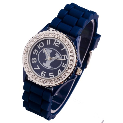 BYU COUGARS WATCH-BYU LADIES JELLY WATCH (Cougars Womens Watch)