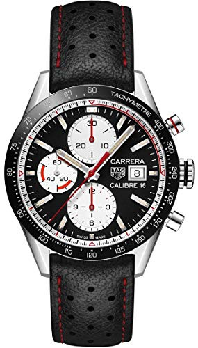 Tag Heuer Carrera Chronograph Automatic Black Dial Mens Watch CV201AP.FC6429 (Tag Heuer Carrera Monaco Grand Prix Price)