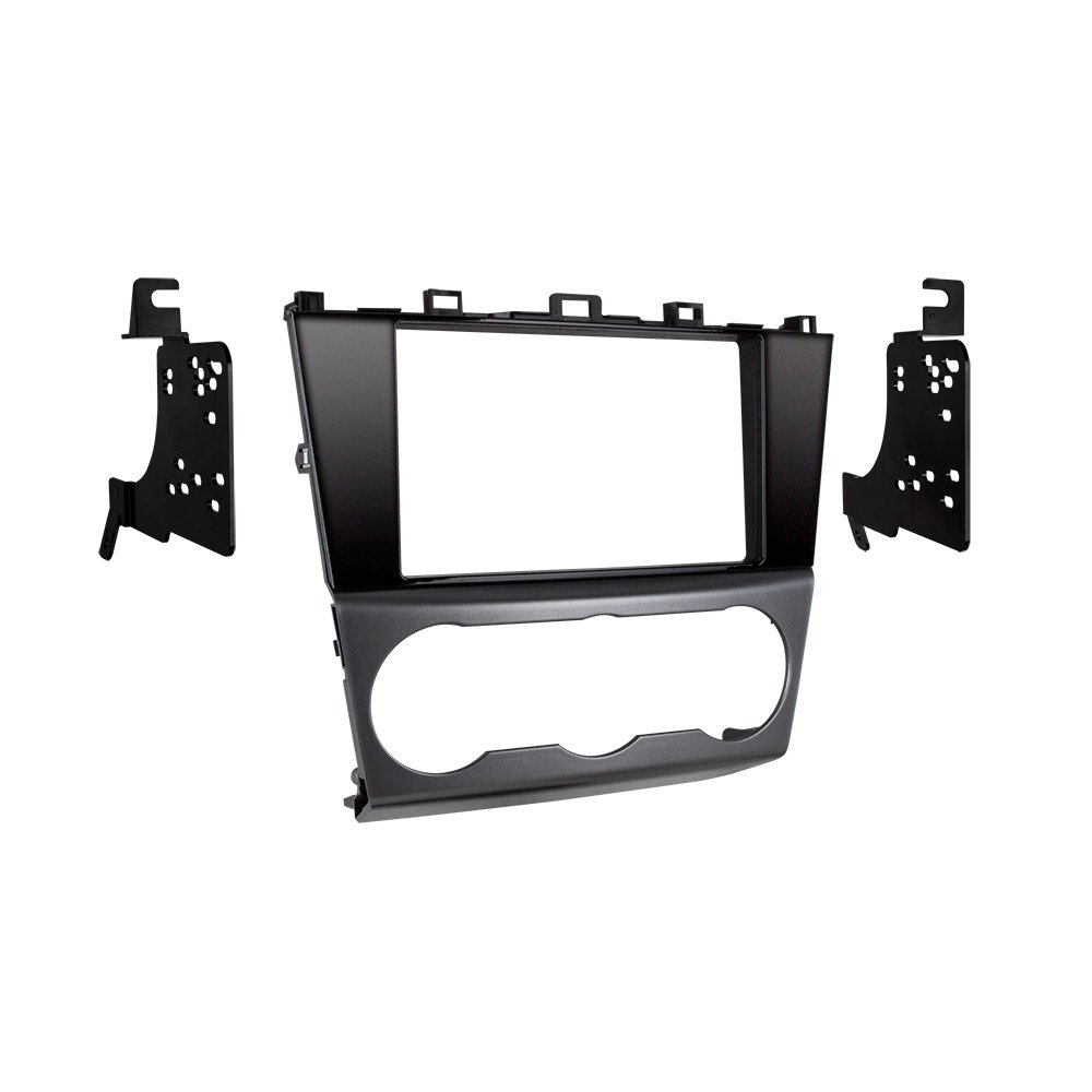 Metra 95-8907HG Double DIN Dash Kit for Select 2015-Up Subaru Impreza and Crosstrek Vehicles (Black) by Metra