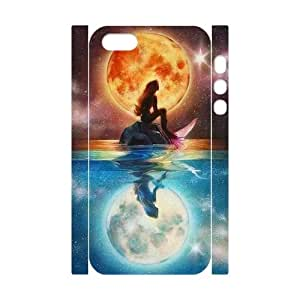DDOUGS I mermaid High Quality Cell Phone Case for Iphone 5,5S, Cheap Iphone 5,5S Case