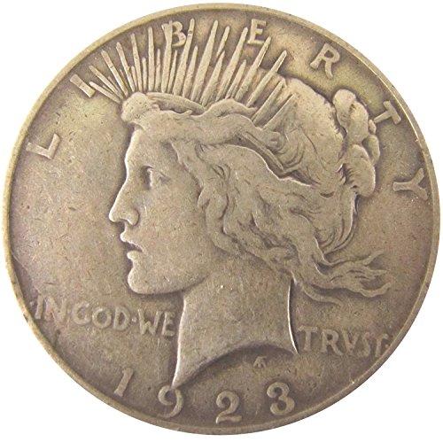 1923 Peace Dollar $1 Fine
