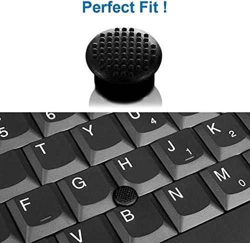 MMOBIEL 5 Piezas Teclado TrackPoint de Goma Tapa Negra de ratón con cúpula Blanda y Borde Puntero de portátil para HP ...