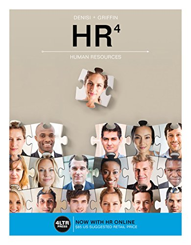 HR Online for DeNisi/Griffin's HR4, 4th Edition by