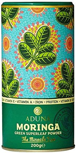 Aduna Moringa Superblatt Pulver, 1er Pack (1 x 200 g)