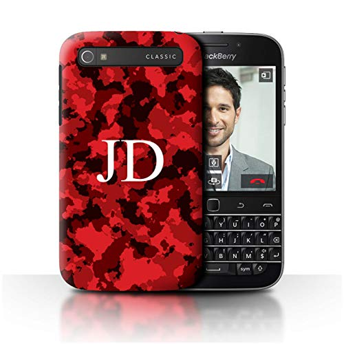 blackberry classic case red - 5